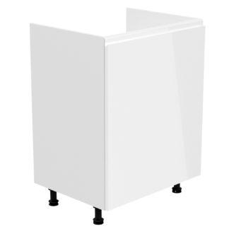 ASPEN, skříňka dolní na dřez D60Z-P pravá,bílá
