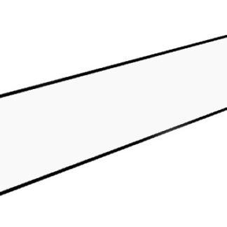 Boční sokl ke kuchyním 50 cm, bílá