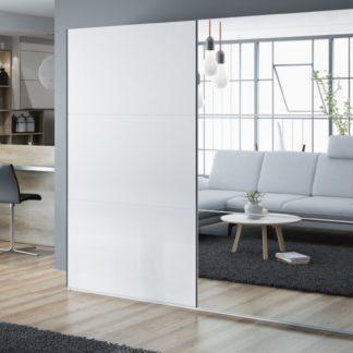 Šatní skříň VIGO 250, bílá/bílá