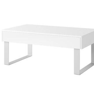 CALABRINI konferenční stolek I, bílá
