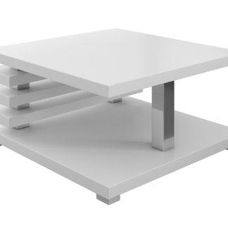 Konferenční stolek GLEN, bílá lesk