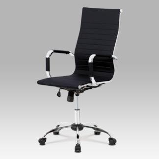 Kancelářská židle KA-V305 BK, černá ekokůže