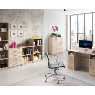 Kancelářská sestava ARTA 01, dub sonoma světlý