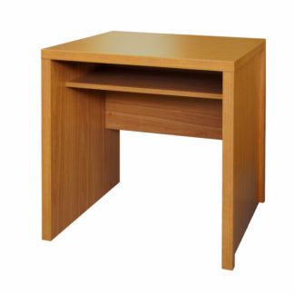 Jednoduchý PC stůl OSCAR T04, třešeň