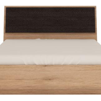 SUMMER, postel 140x200, typ 91, san remo světlé, čal.látka
