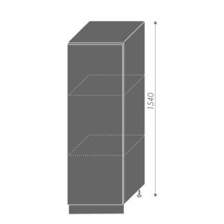 PLATINUM, skříňka dolní  D5D/60/154, korpus: lava, barva: black stripes
