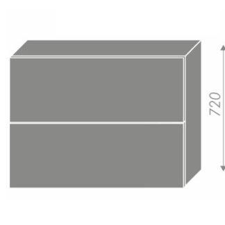EMPORIUM, skříňka horní W8B 90 AV, korpus: bílý, barva: grey stone