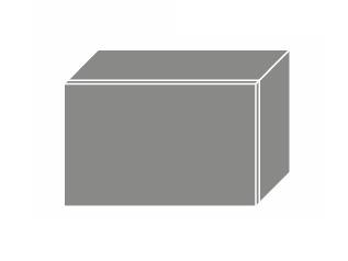 PLATINUM, skříňka horní W4b 50, korpus: bílý, barva: deep red