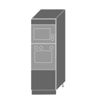PLATINUM, skříň pro vestavbu D5AM/60/154, korpus: grey, barva: deep red