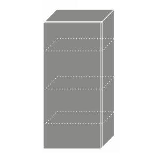 PLATINUM, skříňka horní W4 45, korpus: lava, barva: vanilla