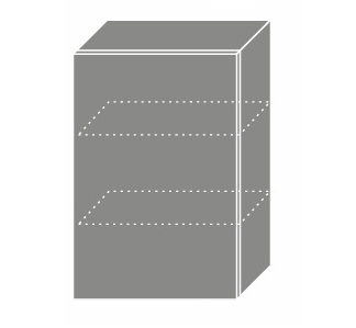 SILVER+, skříňka horní W2 50, korpus: bílý, barva: sonoma