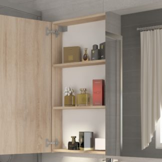 Koupelnová skříňka DELLA 100 cm, dub sonoma