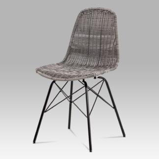 Jídelní židle SF-822 GREY, šedá