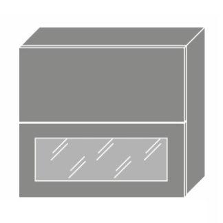 EMPORIUM, skříňka horní W8B 80 AV WKF, korpus: grey, barva: light grey stone