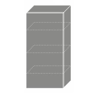 EMPORIUM, skříňka horní W4 50, korpus: bílý, barva: light grey stone