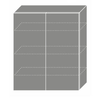 EMPORIUM, skříňka horní W4 80, korpus: grey, barva: light grey stone