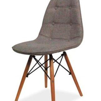 Jídelní židle AXEL II, šedá látka