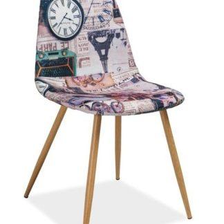 Jídelní čalouněná židle CITI, Paříž