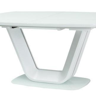 Jídelní stůl ARMANI rozkládací, bílý
