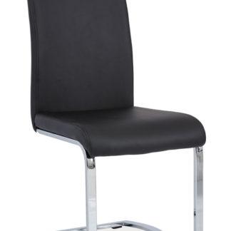 Jídelní čalouněná židle H-790, černá