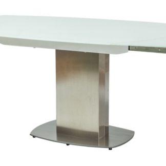Rozkládací jídelní stůl LUCIANO, bílý