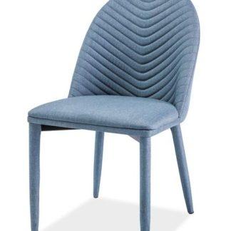 Jídelní čalouněná židle LUCIL, denim