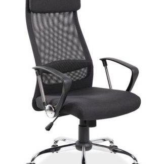 Kancelářské křeslo Q-345, černá
