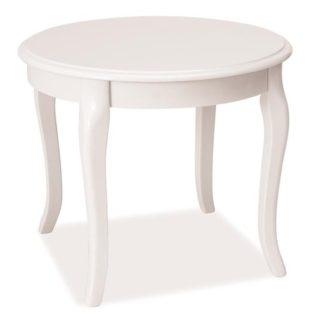 Konferenční stolek ROYAL D, bílý