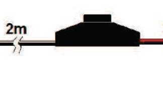 Osvětlení ALABAMA II 3ks LED klips, bílá