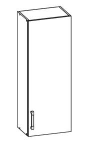 SOLE horní skříňka G40/95 pravá, korpus wenge, dvířka dub arlington