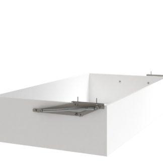 Úložný prostor k posteli UNO 90x200 a 180x200 cm, bílá arctic