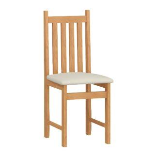 Jídelní židle B, potah béžová ekokůže, barva: …