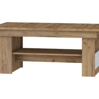 Konferenční stolek MAXIMUS 16, craft zlatý/craft bílý