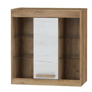 Závěsná skříňka 1D MAXIMUS 40, craft zlatý/craft bílý