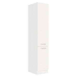 EKO WHITE, skříňka vysoká 40 DK-210 2F, bílá