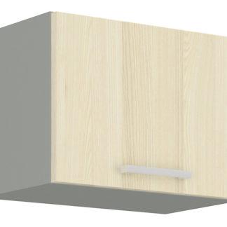 EKO AKACJA, skříňka horní 50 OK-4, šedá/akácie