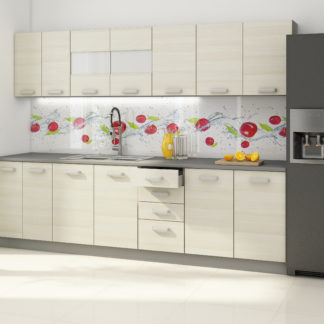 Kuchyně EKO AKACJA 260, šedá/ akácie