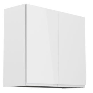 ASPEN, skříňka horní s odkapávačem G80C, bílá/bílý lesk