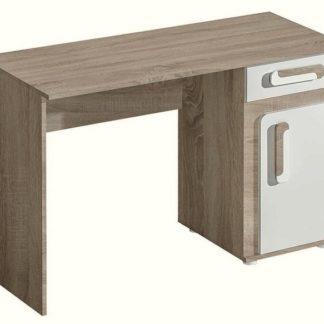 Pracovní stůl APETTITA 9, dub jasný/bílá