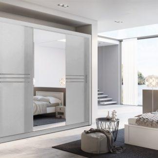Šatní skříň IDEA 11 250 zrcadlo, bílá