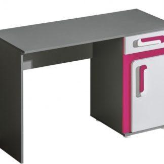 Pracovní stůl APETTITA 9, antracit/růžová