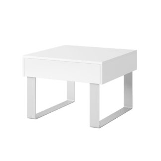 CALABRINI konferenční stolek II, bílá
