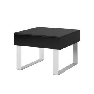 CALABRINI konferenční stolek II, černá
