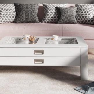 Konferenční stolek ANZIO, bílá