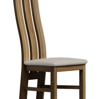 Čalouněná židle PARIS, dub stirling/Victoria 20