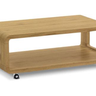 Konferenční stolek AHG-126 OAK, dub divoký