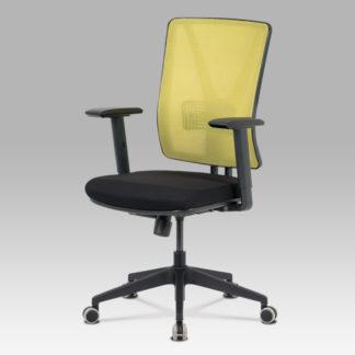 Kancelářská židle KA-M01 GRN, zelená síťovina/černá látka