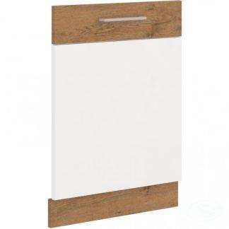 Kuchyňská deska skříňka Vigo na myčku ZN 713x596 dub lancelot/bílý lesk - FALCO