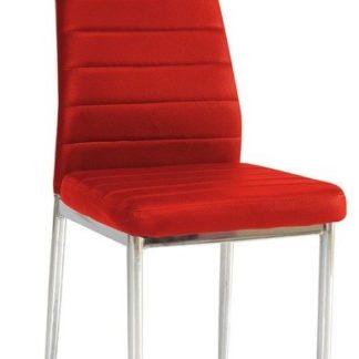 Jídelní židle F-261 červená - FALCO