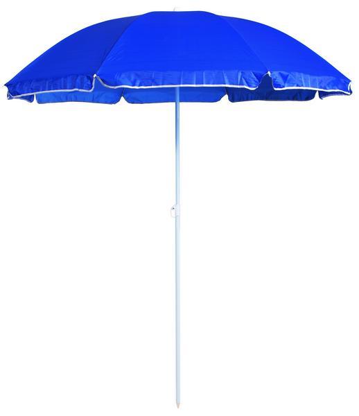 Slunečník Umbrelia (ø 160 cm), tmavě modrý